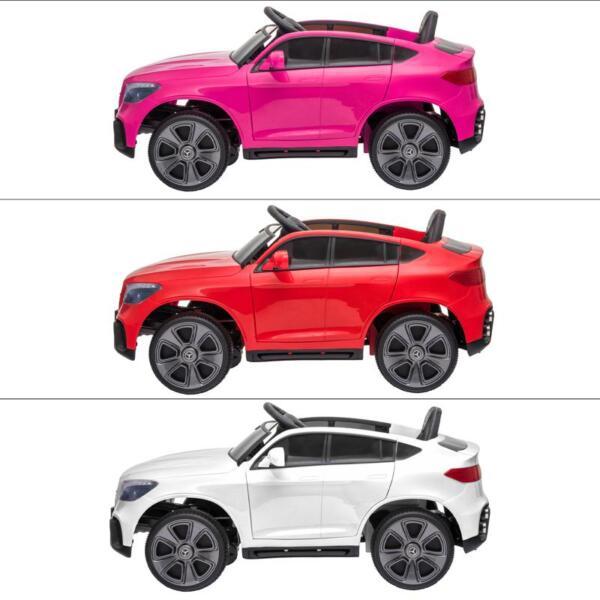 MercedesBenz GLC Licensed Kid's Electric Toy Car Vehicle, Pink mercedes benz glc licensed 12v kids eleectric car pink 46