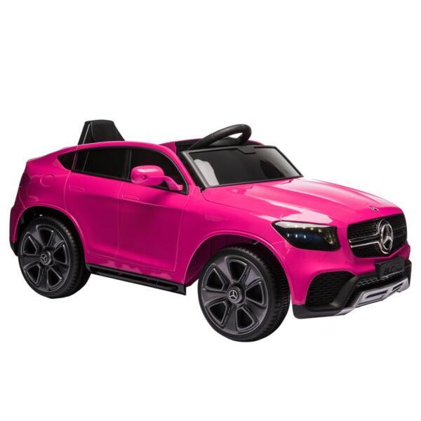 MercedesBenz GLC Licensed Kid's Electric Toy Car Vehicle, Pink mercedes benz glc licensed 12v kids eleectric car pink 7