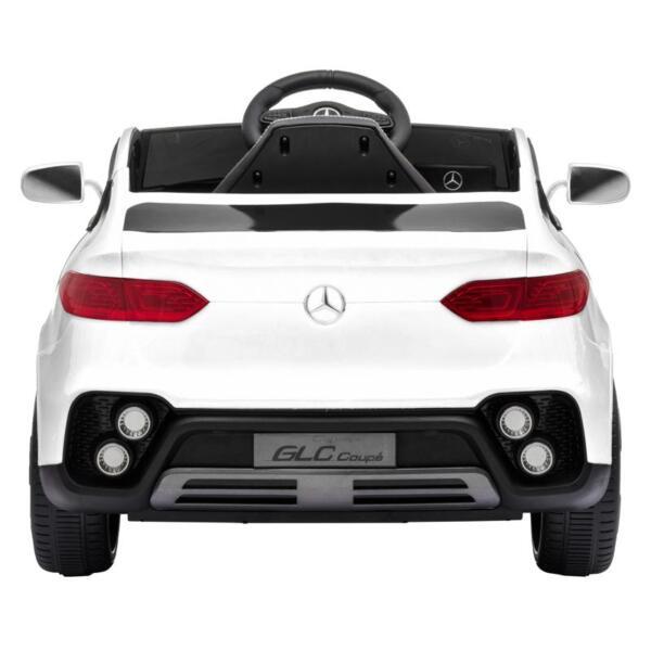 MercedesBenz GLC Licensed Kid's Electric Toy Car Vehicle, White mercedes benz glc licensed 12v kids eleectric car white 10 1