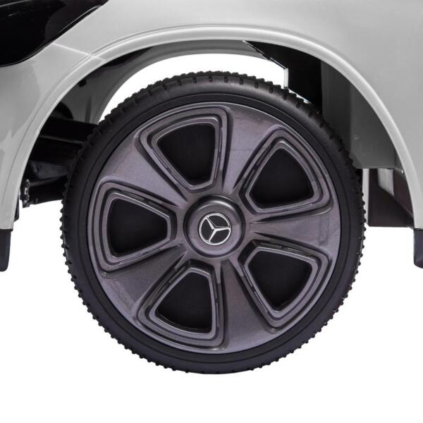 MercedesBenz GLC Licensed Kid's Electric Toy Car Vehicle, White mercedes benz glc licensed 12v kids eleectric car white 28
