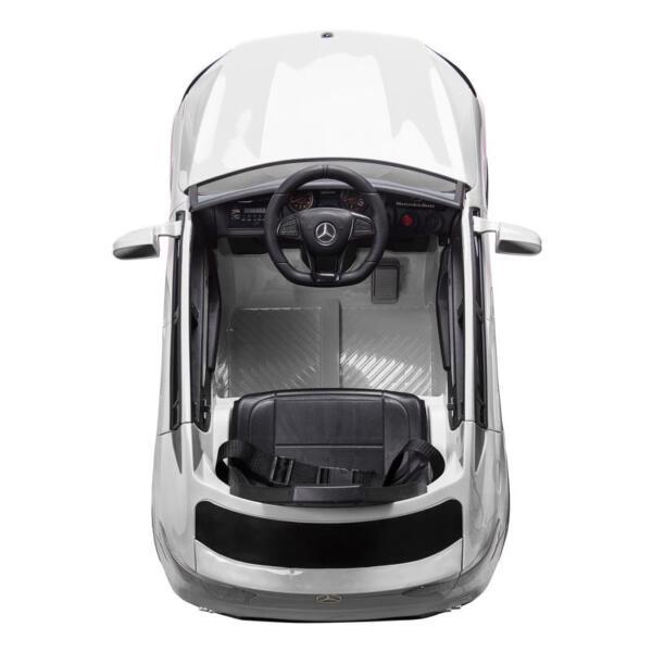 MercedesBenz GLC Licensed Kid's Electric Toy Car Vehicle, White mercedes benz glc licensed 12v kids eleectric car white 4 1
