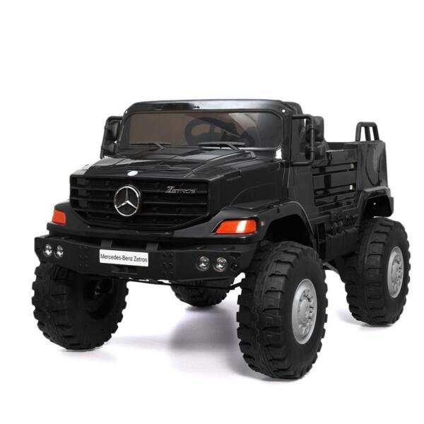 Mercedes Benz Kids Ride-On Truck, Black mercedes benz kids ride on truck black 0