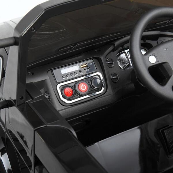 Mercedes Benz Kids Ride-On Truck, Black mercedes benz kids ride on truck black 21