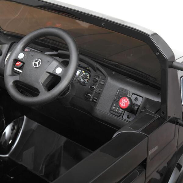 Mercedes Benz Kids Ride-On Truck, Black mercedes benz kids ride on truck black 22
