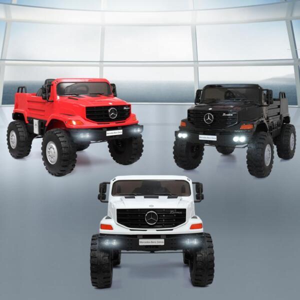 Mercedes Benz Kids Ride-On Truck, Black mercedes benz kids ride on truck black 24