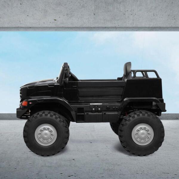 Mercedes Benz Kids Ride-On Truck, Black mercedes benz kids ride on truck black 5