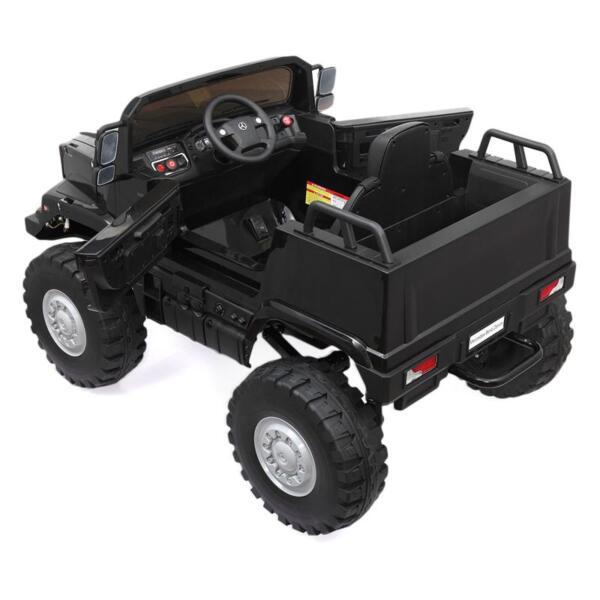 Mercedes Benz Kids Ride-On Truck, Black mercedes benz kids ride on truck black 7