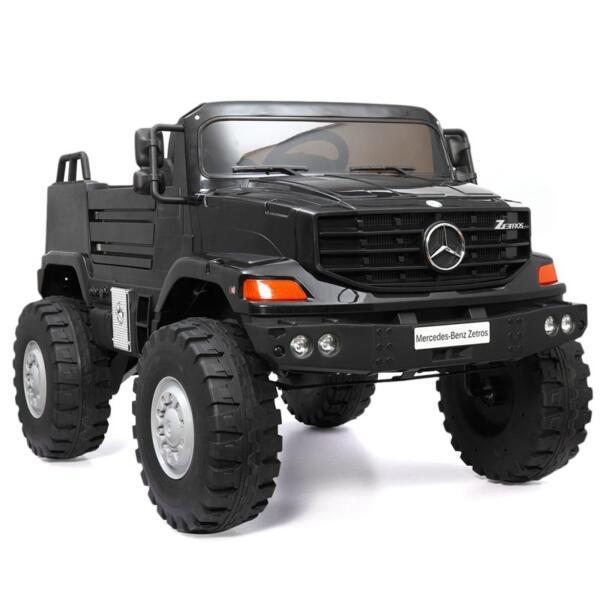 Mercedes Benz Kids Ride-On Truck, Black mercedes benz kids ride on truck black 8