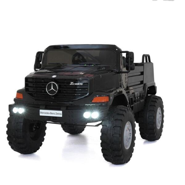 Mercedes Benz Kids Ride-On Truck, Black mercedes benz kids ride on truck black 9
