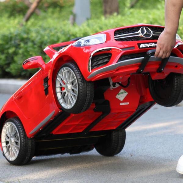 12V Mercedes Benz 2 Seater Kids Power Wheels With Remote, Red mercedes benz licensed 12v kids ride on car red 16