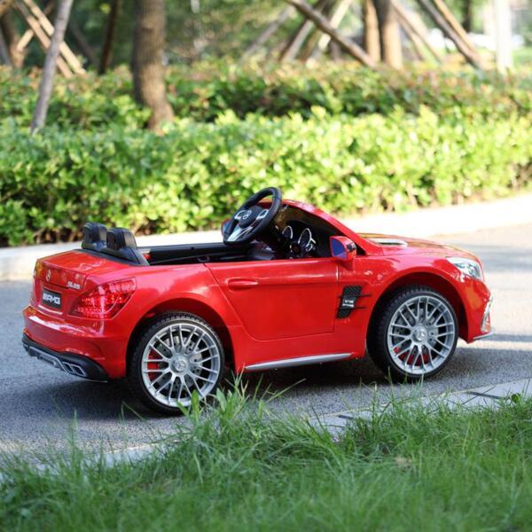 12V Mercedes Benz 2 Seater Kids Power Wheels With Remote, Red mercedes benz licensed 12v kids ride on car red 17