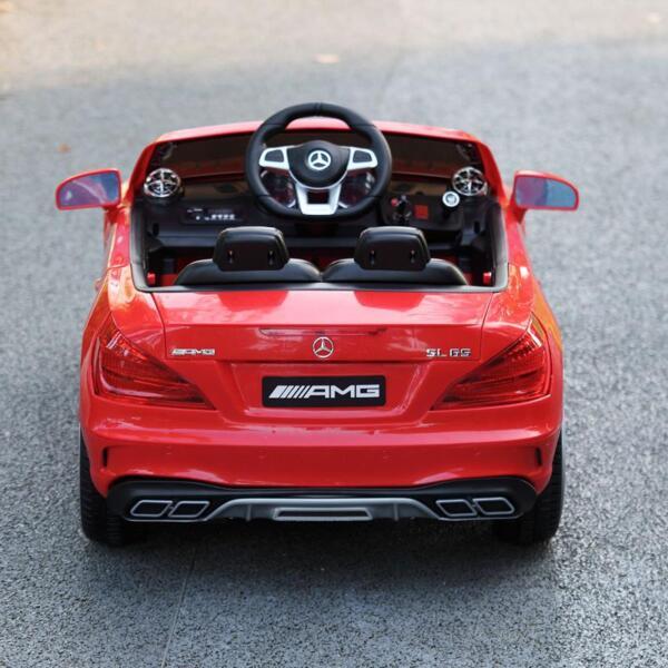 12V Mercedes Benz 2 Seater Kids Power Wheels With Remote, Red mercedes benz licensed 12v kids ride on car red 19