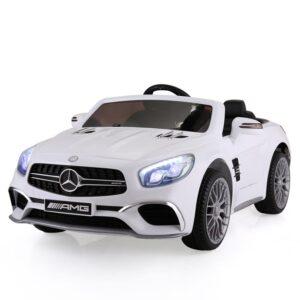 Selling mercedes benz licensed 12v kids ride on car white 4 best selling on TOBBI