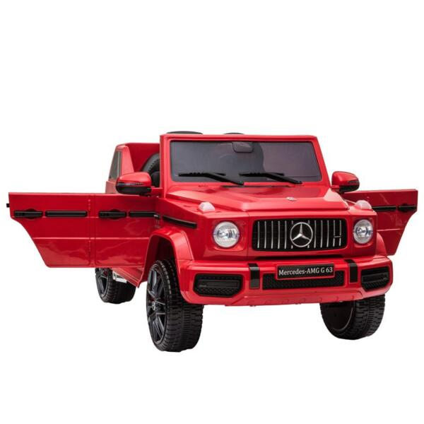 12V Mercedes Benz Ride on Car with Remote Control, Red mercedes benz licensed amg g63 12v kids ride on cars red 10