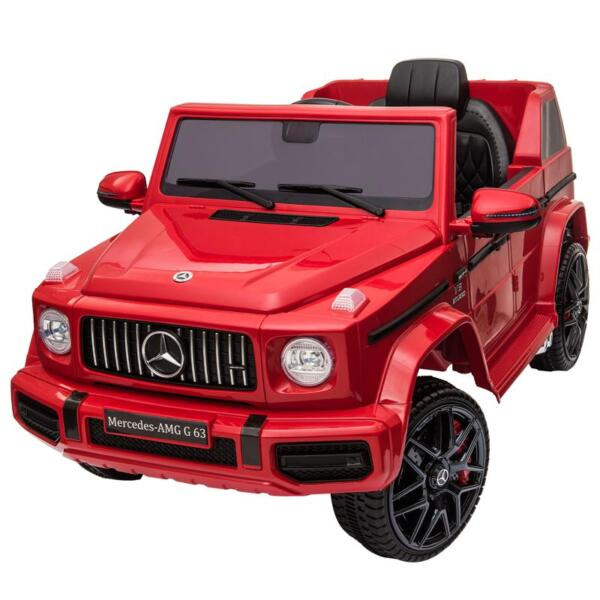 12V Mercedes Benz Ride on Car with Remote Control, Red mercedes benz licensed amg g63 12v kids ride on cars red 2