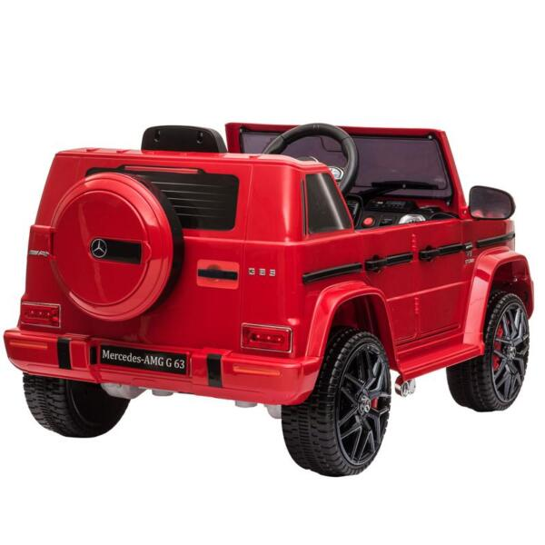 12V Mercedes Benz Ride on Car with Remote Control, Red mercedes benz licensed amg g63 12v kids ride on cars red 5