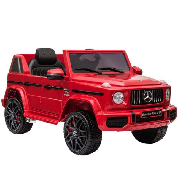 12V Mercedes Benz Ride on Car with Remote Control, Red mercedes benz licensed amg g63 12v kids ride on cars red 6