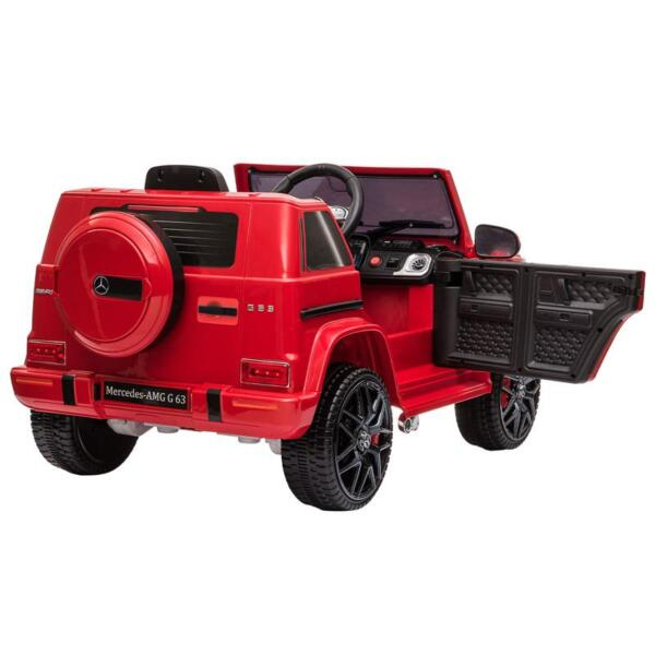 12V Mercedes Benz Ride on Car with Remote Control, Red mercedes benz licensed amg g63 12v kids ride on cars red 9