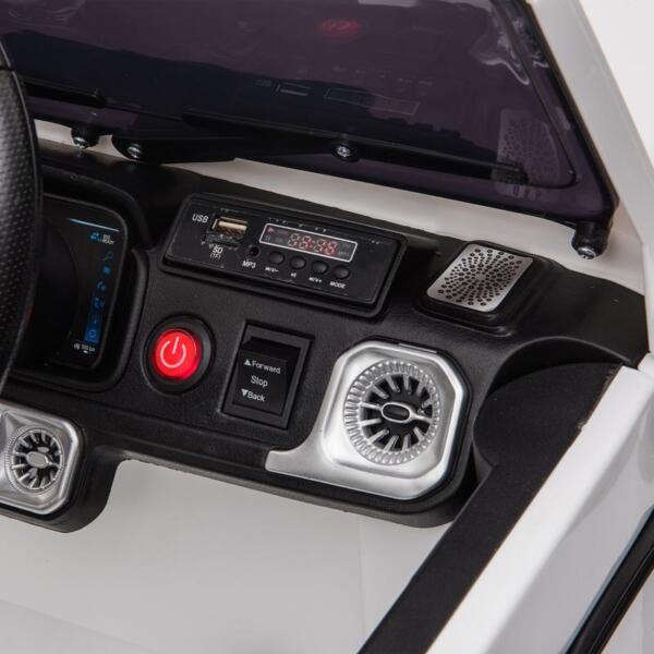 Mercedes-Benz Licensed AMG G63 12V Kids Ride On Cars, White mercedes benz licensed amg g63 12v kids ride on cars white 30