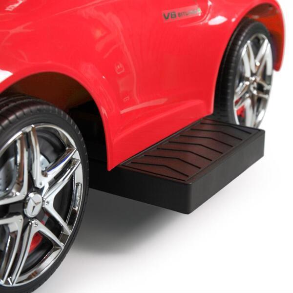 Mercedes Benz Licensed Kids Ride-on Push Car, Red mercedes benz licensed kids ride on push car red 36