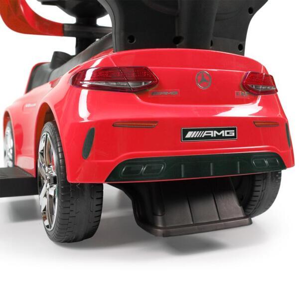 Mercedes Benz Licensed Kids Ride-on Push Car, Red mercedes benz licensed kids ride on push car red 38