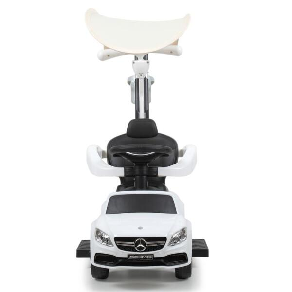 Mercedes Benz Licensed Kids Ride-on Push Car, White mercedes benz licensed kids ride on push car white 24