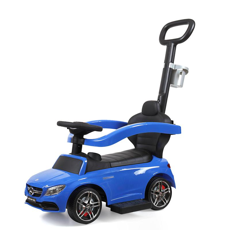 Mercedes Benz Ride On Push Car for Toddlers, Blue mercedes benz licensed ride on push car for toddlers aged 1 3 years blue 1