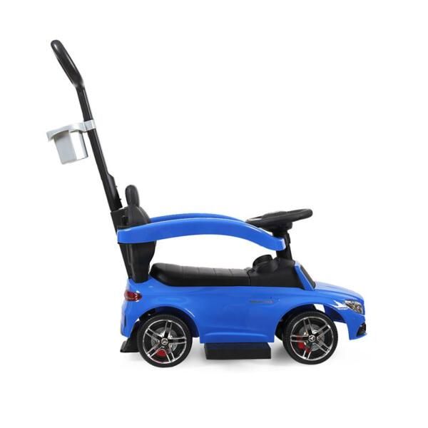 Mercedes Benz Ride On Push Car for Toddlers, Blue mercedes benz licensed ride on push car for toddlers aged 1 3 years blue 14