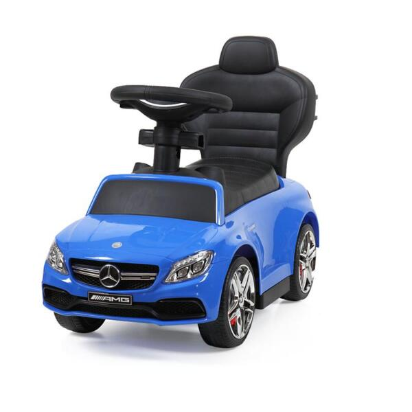 Mercedes Benz Ride On Push Car for Toddlers, Blue mercedes benz licensed ride on push car for toddlers aged 1 3 years blue 16