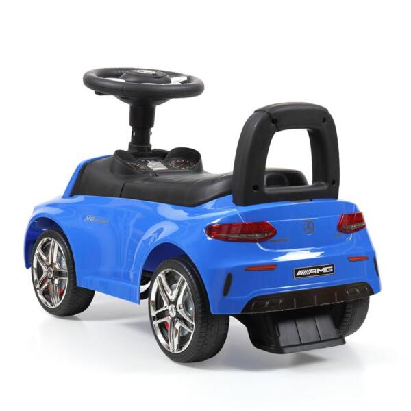 Mercedes Benz Push Ride-on Car for Toddlers, Blue mercedes benz push ride on car for toddlers blue 19