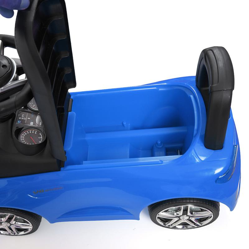 Mercedes Benz Ride On Push Car for Kids, Blue mercedes benz push ride on car for toddlers blue 22 1
