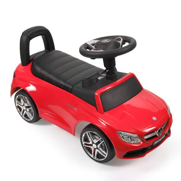 Mercedes Benz Push Ride-on Car for Toddlers, Red mercedes benz push ride on car for toddlers red 1