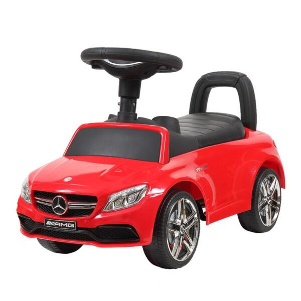 Mercedes Benz Push Ride-on Car for Toddlers, Red mercedes benz push ride on car for toddlers red 11