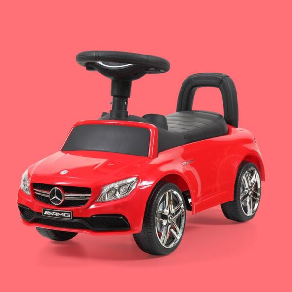 Mercedes Benz Push Ride-on Car for Toddlers, Red mercedes benz push ride on car for toddlers red 25 1