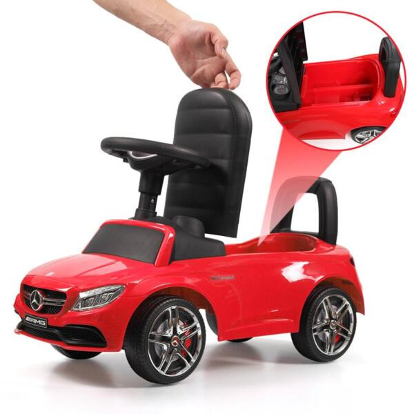 Mercedes Benz Push Ride-on Car for Toddlers, Red mercedes benz push ride on car for toddlers red 27