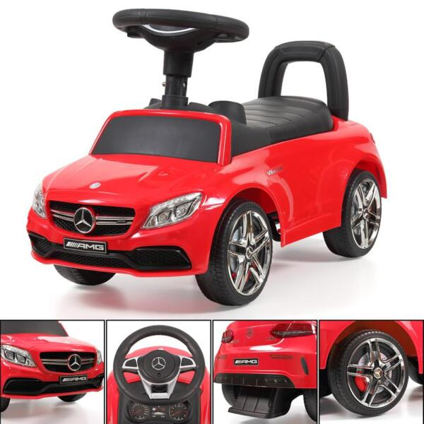 Mercedes Benz Push Ride-on Car for Toddlers, Red mercedes benz push ride on car for toddlers red 32