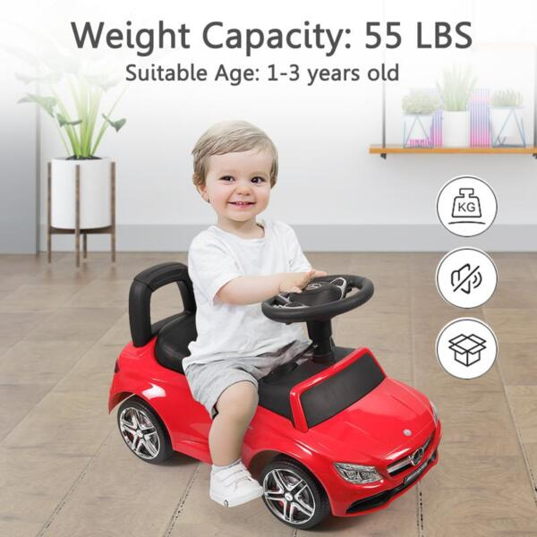 Mercedes Benz Push Ride-on Car for Toddlers, Red mercedes benz push ride on car for toddlers red 33