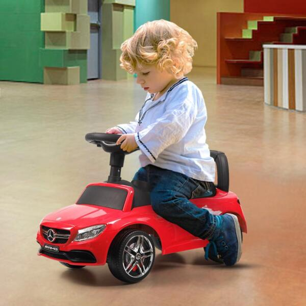 Mercedes Benz Push Ride-on Car for Toddlers, Red mercedes benz push ride on car for toddlers red 35 1