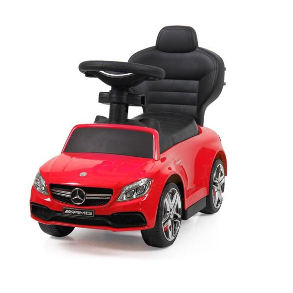 Mercedes Benz Ride-on Push Car for Toddlers Aged 1-3 Years, Red mercedes benz ride on push car for toddlers aged 1 3 years red 17