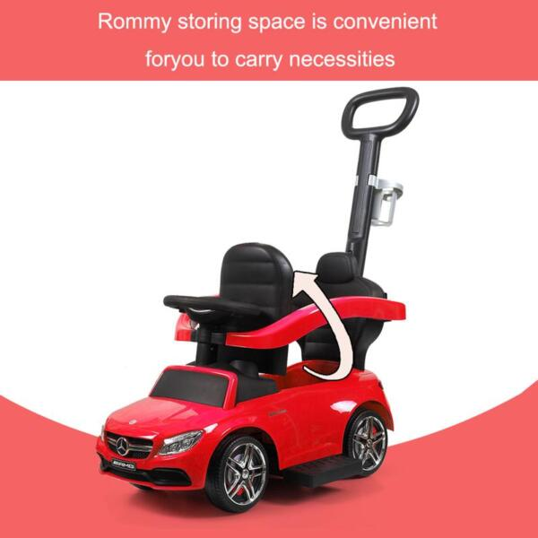 Mercedes Benz Ride-on Push Car for Toddlers Aged 1-3 Years, Red mercedes benz ride on push car for toddlers aged 1 3 years red 6 1