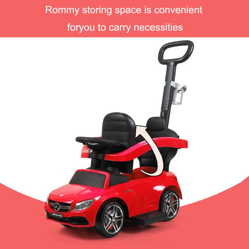 Mercedes Benz Ride On Push Car for Toddlers, Red mercedes benz ride on push car for toddlers aged 1 3 years red 6 2
