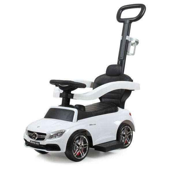 Mercedes Benz Ride-on Push Car for Toddlers Aged 1-3 Years, White mercedes benz ride on push car for toddlers aged 1 3 years white 1