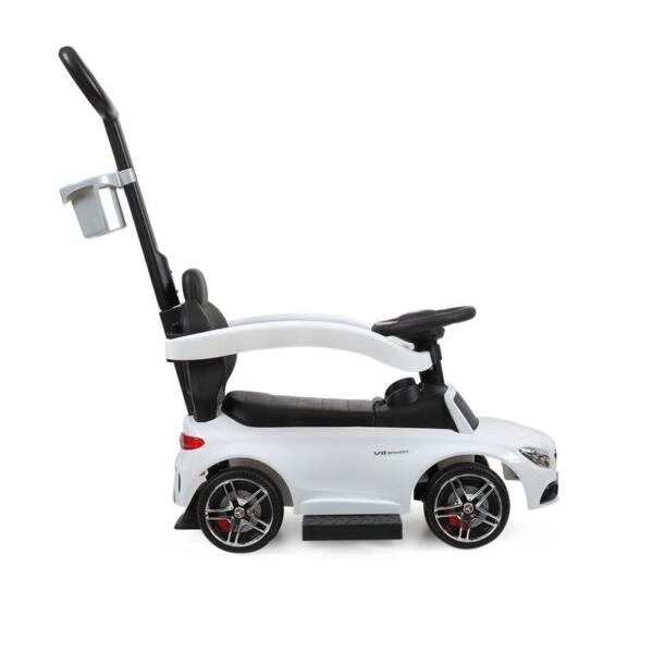 Mercedes Benz Ride-on Push Car for Toddlers Aged 1-3 Years, White mercedes benz ride on push car for toddlers aged 1 3 years white 14 1