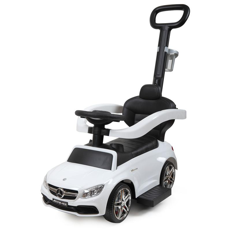 Mercedes Benz Ride On Push Car for Toddlers, White mercedes benz ride on push car for toddlers aged 1 3 years white 16