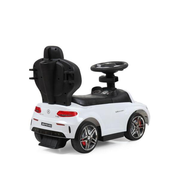 Mercedes Benz Ride-on Push Car for Toddlers Aged 1-3 Years, White mercedes benz ride on push car for toddlers aged 1 3 years white 17 1