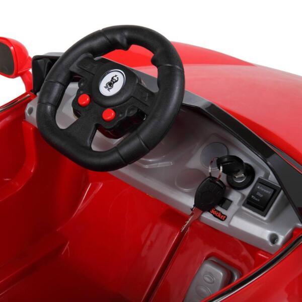 Kids Ride On Racing Car W/ Remote Control remote control kids ride on racing car red 10 1