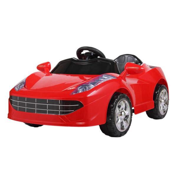 Kids Ride On Racing Car W/ Remote Control remote control kids ride on racing car red 3