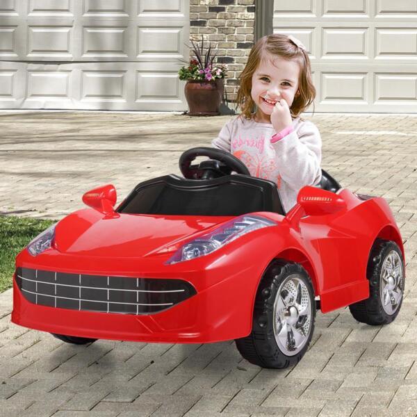 Kids Ride On Racing Car W/ Remote Control remote control kids ride on racing car red 33 1