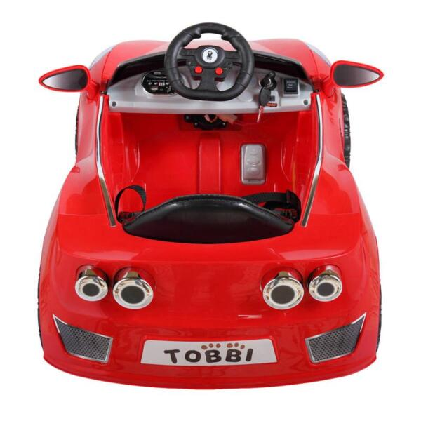Remote Control Kids Ride On Racing Car, Red remote control kids ride on racing car red 5
