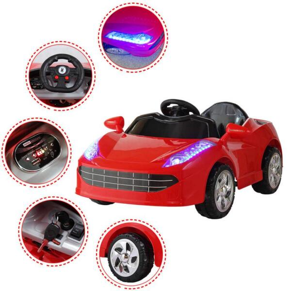 Remote Control Kids Ride On Racing Car, Red remote control kids ride on racing car red 50 1